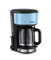 Mehr 20136-56 Colours Plus+ Heavenly Blue Glas-Kaffeemaschine