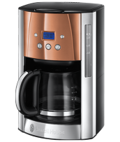 Find out more 24320 Luna Copper Accents Coffee Maker