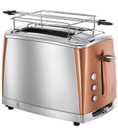 Mehr 24290-56 Luna Copper Accents Toaster