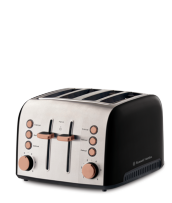 Find out more about the RHT94COP Brooklyn 4 slice toaster copper