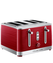 Find out more about the RHT114RED Inspire 4 Slice Toaster Red